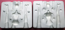 """HANNAH ALL IN ONE  5 1/4"""" - 5 1/2""""  PORCELAIN MOLD 1:12 SCALE by PATRICIA ROSE"""