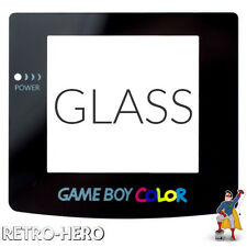 Nintendo Game Boy Color Display Front screen replace protect gameboy REAL GLASS