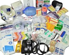 Medical Supplies Kit Full Deluxe Refill Trauma First Aid Responders CPR EMS EMT