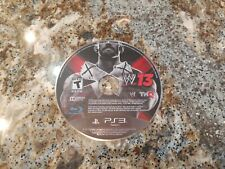 WWE 13 -- Sony PlayStation 3 PS3 -- C+ CONDITION -- DISC ONLY