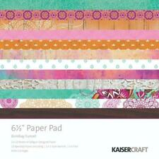 Kaisercraft 'Bombay Sunset' Paper Pad 6.5 x 6.5 scrapbook paper