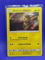 Detective Pikachu | Holo | EX-NM | Black Star Movie Promo SM190 | Pokemon