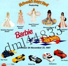 1997 McDonalds Barbie MIP Complete Set - Lot of 5, Girls, 3+