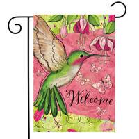 Hummingbird Haven Garden Flagpole Fits 12 5 X 18 Flags 32085911902 Ebay