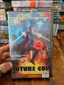 Future Cop VHS Premiere Very RARE