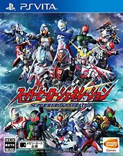 Used PS Vita Super Hero Generation  Japan Import