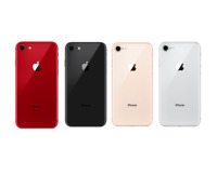 Fully Unlocked Apple iPhone 8 [64GB 256GB] Space Gray Silver Gold Red (CDMA+GSM)