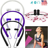 Handsfree Bluetooth Headset Universal Earpiece Earbuds for Samsung iPhone HTC US