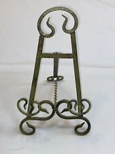 Easel Picture Art Photo Holder Display Big Stand Metal Decorative Tabletop Green