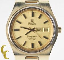 Orologi da polso Seamaster con cinturino in placcato oro
