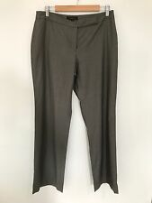 Country Road Womens 12 Pant Suit Trousers Grey Super Comfy Wool Ladies Career