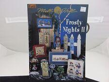 Mill Hill FROSTY NIGHTS II Snowman Tree Cross Stitch Patterns NEW