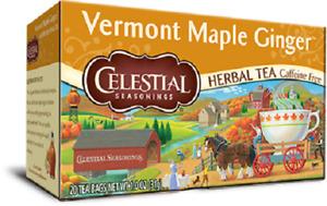 Celestial Seasonings Tea Vermont Maple Ginger