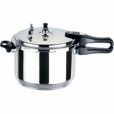Aluminium Pressure Cooker Kitchen Catering Home 3-5-7-9-11LTR