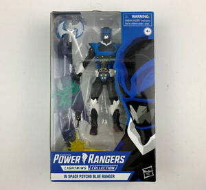 Saban's Power Rangers Lightning Collection In Space Psycho Blue Ranger Hasbro