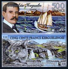 Kerguelen Island 500 Francos, 2011 ,Polymer,UNC > Nuevo