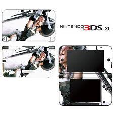 Vinyl Skin Decal Cover for Nintendo 3DS XL LL - FF Lightning