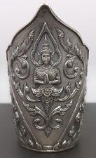 Sterling Silver Intricate Design Bangle Cuff Made in Siam