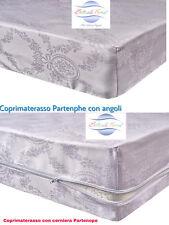 Coprimaterassotessuto Damast Schwer 100% Baumwolle Botticelli Home Partenope