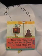 Curly Girl Designs - Demdaco - Started Plaque #14636 - NEW
