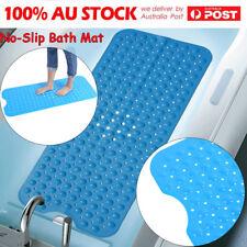 Extra Long Anti Non Slip Anti-Bacterial Bath Pad Suction Bathroom Shower Mat