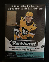 2020-21 Upper Deck Parkhurst Hockey NHL Blaster Box - New Sealed