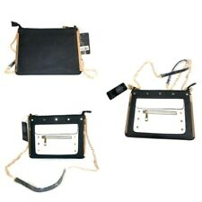 Ladies Studded Cross Body Chain Bag Girls Metal Straps Fashion Handbag New Bags