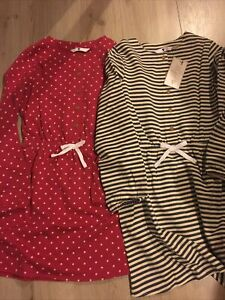 Girls PJ's Dresses Pack Of Two Age 12 years