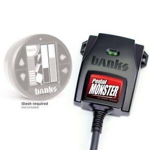 Banks Power 64311 Pedal Monster Kit Existing iDash For Ford Transit 250 2015-19