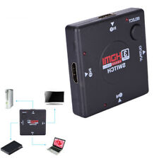 3 IN 1 OUT Splitter 3 Porte 1080P Video HDMI HD Switcher Switcher per HDTV e`DVD