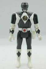 VTG 1993 Power Rangers Flip Head Black Action Figure Bandai Zack Power Ranger