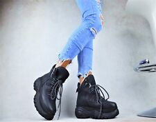 Designer XXL Platform Ladies' Shoes Boots Ankle Trendy Leisure Time Party Court