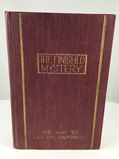 1917 The Finished Mystery Watchtower Studies in the Scriptures Jehovah Original