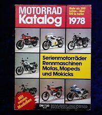 Motorrad Katalog Nr.8, 1978,