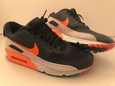 2012 Mens Nike Air Max Wright Orange/ Blue Running Shoes! Size 11