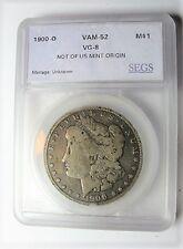 Non U.S. Mint Origin 1900-O VAM-52 Obverse Gouges at Unum Morgan Dollar