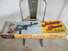 Vintage 1964 Johnny Seven O.M.A One Man Army Toy Rifle BOX ONLY ORIGINAL