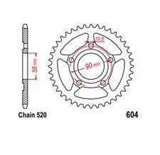 KR Kettenrad 35 Z Teilung 520 HONDA CRM 125 R 90-99 NEU ... Rear sprock
