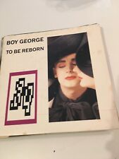 ❤️ Vinyle 33 Tours Disque Boy George To Be Reborn