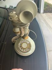 Vintage Candlestick Telephone 1973 American Telecommunication Corp.~untested~