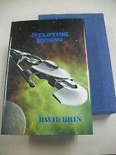 """PERFECT COPY! S/L ED """"STARTIDE RISING"""" BY DAVID BRIN! PHANTASIA PRESS 1985"""