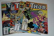 Marvel Bronze Age Thor #354,374,393, Annual #18 Lot
