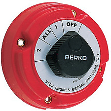 Perko Battery Electrical Selector Switch Boat Marine RV 8501 1 2 On Off All