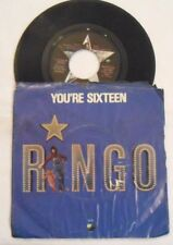 Ringo Starr 45 rpm vinyl record (1973 Apple Records) You're Sixteen Devil Wom