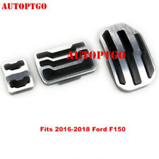 Fits 2016 2017 2018 Ford F150 Raptor Pedal No Drill Gas Brake Foot Pedals Cover