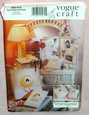 Uncut Vogue Craft Little Angels Desk Accessories Pattern 9642 Tooth Fairy Pillow