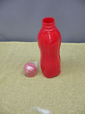 Tupperware Eco Water Bottle 1L~36-oz Eco Tumbler & Flip Top Pour Seal Red NEW
