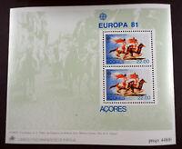 "Portugal/Azoren 1981, Block ""Folklore"" (Motiv ""Pferde"") per 200, (ME 800,-)"