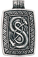Eastgate Resource Urnes Snakes for Skill and Ingenuity Pendant with Chain
