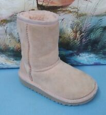UGG Australia Classic Short pink Suede girls winter Boots 5251T, US Size 10